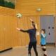 Projekt Volleyball macht Schule: Sophie Tauchert macht's vor . Wolfsgrube Suhl 11.02.2019