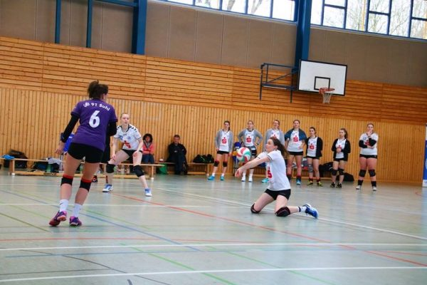 Thüringenliga: VfB 91 Suhl 2 gegen Nordhausen und Gera . Sporthalle Otto-Bruchholz-Straße Suhl . 27.01.2018