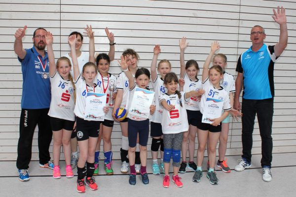 Volleyball-Landesfinale 2017 VfB 91 Suhl Team U12