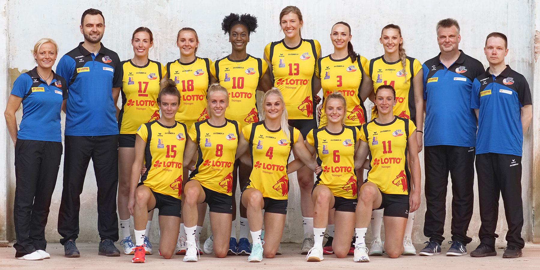 VfB Suhl LOTTO Thüringen . Team 2019/20