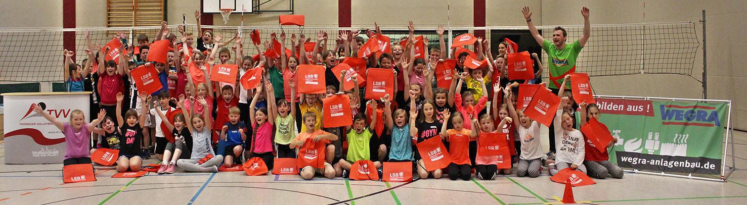 Volleyball macht Schule: Grundschule Milz (09.05.2019)