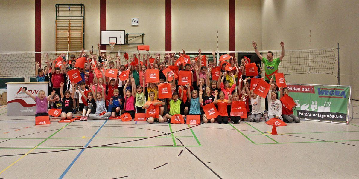 Die VMS-Crew zu Gast in der Grundschule Milz