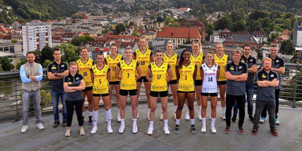 VfB Suhl LOTTO Thüringen . Team 2021-22 (Foto: Jürgen Scheere)