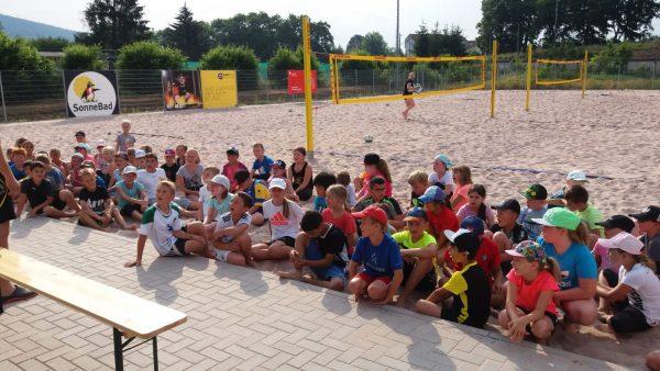Eröffnung Sandsportfest . 1. Sonneberger VC 2004 . 01.07.2019