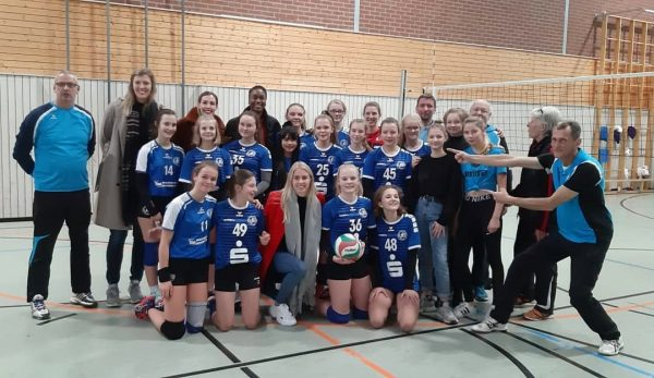 Qualifikation Thüringer Landesmeisterschaft: VfB 91 Suhl U16 . Sporthalle