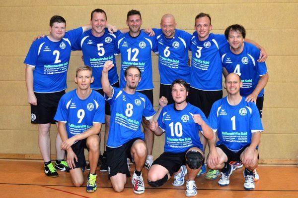 VfB 91 Suhl Männer-Team 2016-17