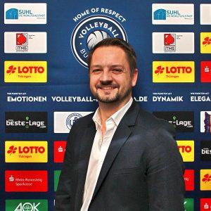 Dr. Guido Reinhardt . Präsident VfB 91 Suhl