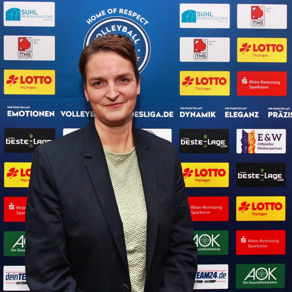 Anett Hofauer . Schatzmeisterin VfB 91 Suhl