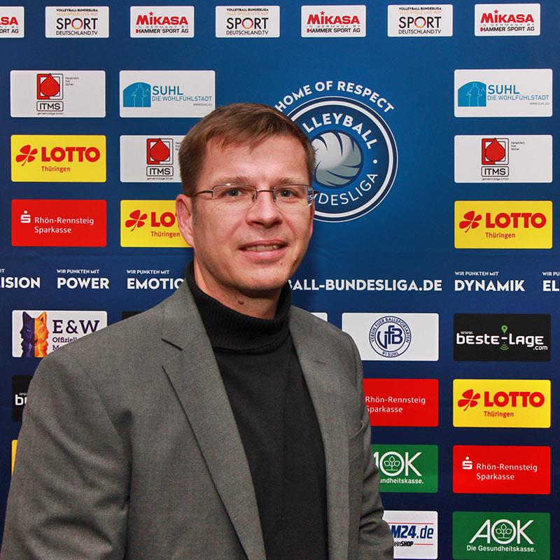 Jens Brauer . Vizepräsident VfB 91 Suhl
