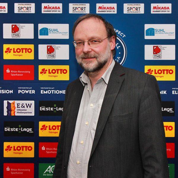 Uwe Eberhard . Vizepräsident VfB 91 Suhl