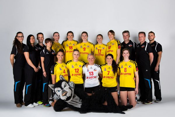 VfB Suhl LOTTO Thüringen . 1. Volleyball Bundesliga Frauen Team