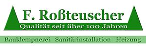 F. Roßteuscher Sanitär Schleusingen
