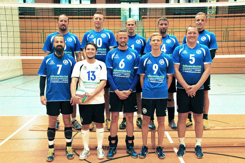 VfB 91 Suhl Männer . Team 2018-19